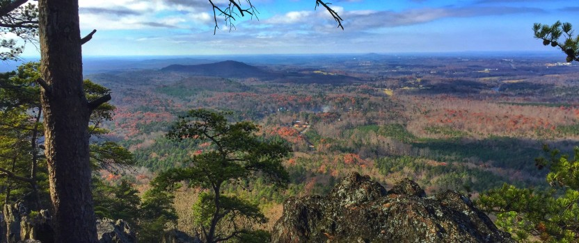 A Surprising View On Crowders Mountain